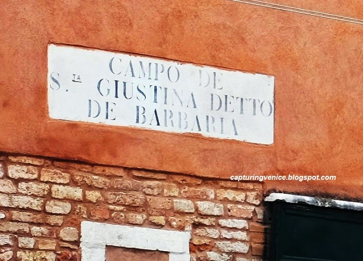 Campiello de Barbaria, Castello capturingvenice.blogspot.com