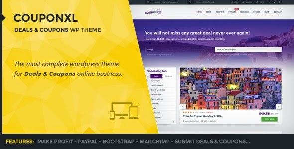 CouponXL - Coupons, Deals & Discounts WordPress Theme