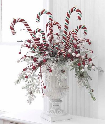 Hydrangea Hill Cottage Diy Christmas Centerpieces: white christmas centerpieces