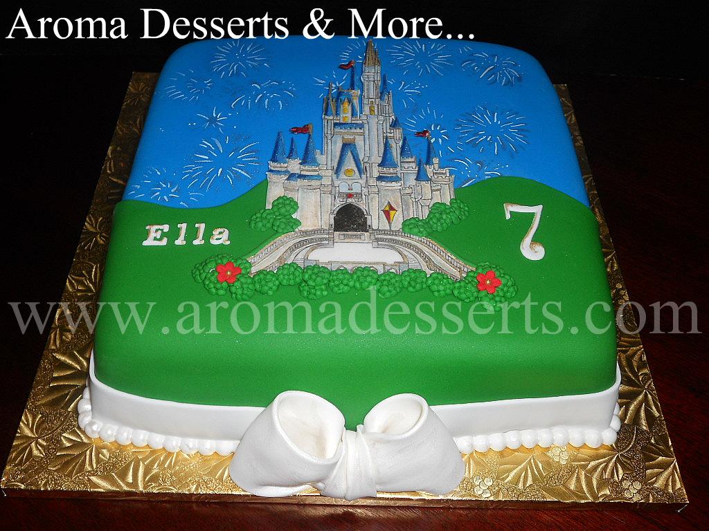 Aroma Desserts And More Magic Kingdom Cinderella Castle With