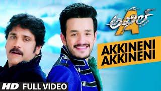 Akkineni Akkineni Full Video Song __ Akhil -The Power Of Jua __ Akhil Akkineni, Sayesha