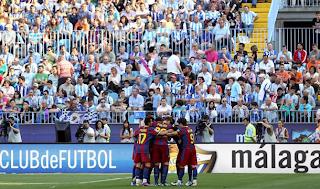 Barcelona venció al Málaga con un Equipo Alterno