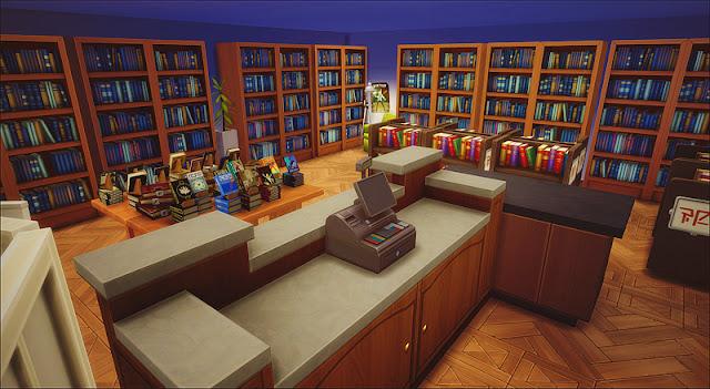 Sims 4 Bookstore