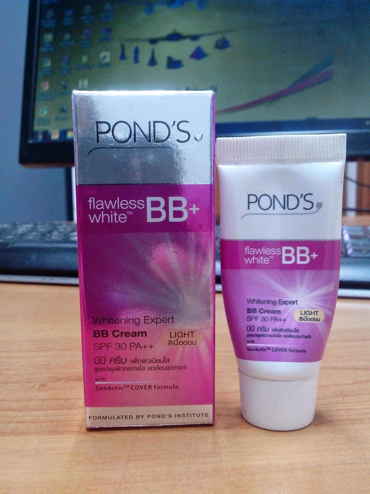 how to use ponds bb cream