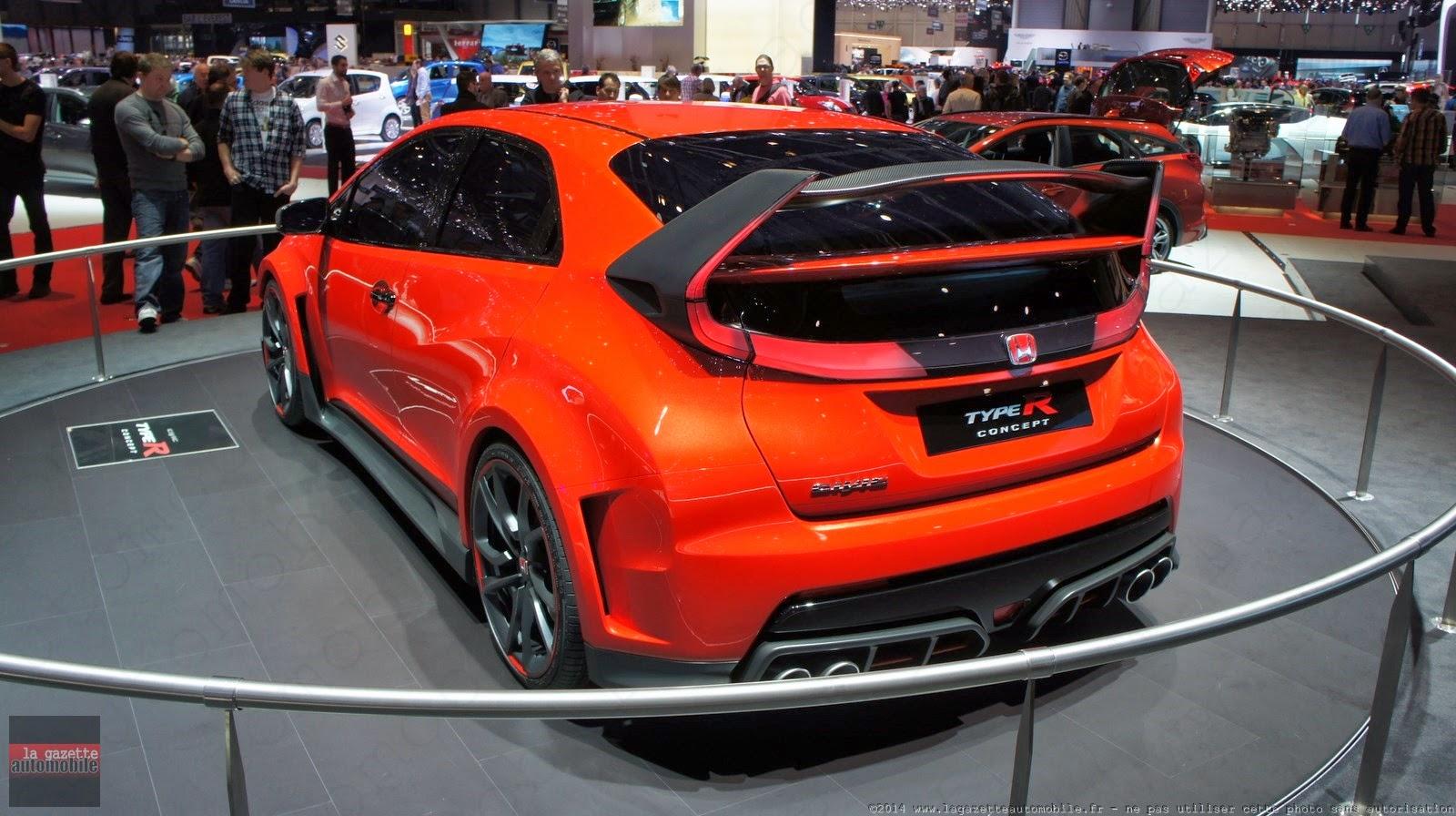 Genève : Honda Civic Type R Concept