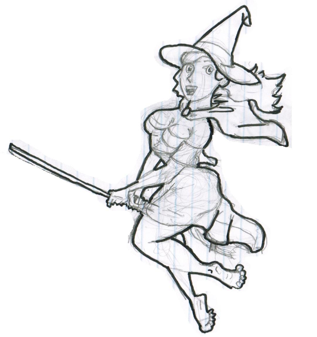 witch on broom clip art hot girls wallpaper Spooky Halloween Ghost Clip Art Scarecrow Clip Art