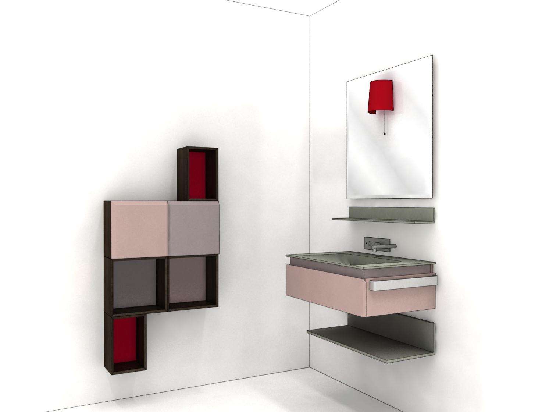 Arredo bagno: Mobili e contenitori modulabili per bagno.  Casa ...