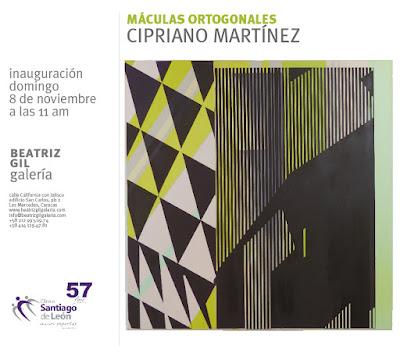 Las Máculas Ortogonales de Cipriano Martínez