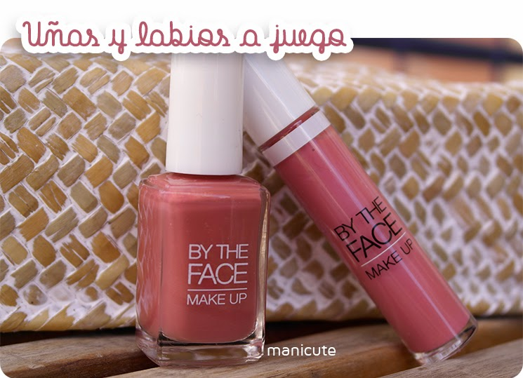 uñas y labios a juego by the face