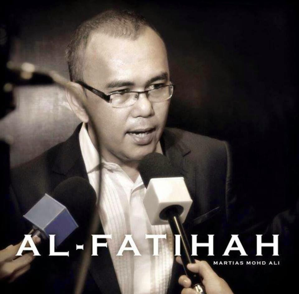 Penulis Skrip Martias Mohd Ali Kembali Ke Rahmatullah