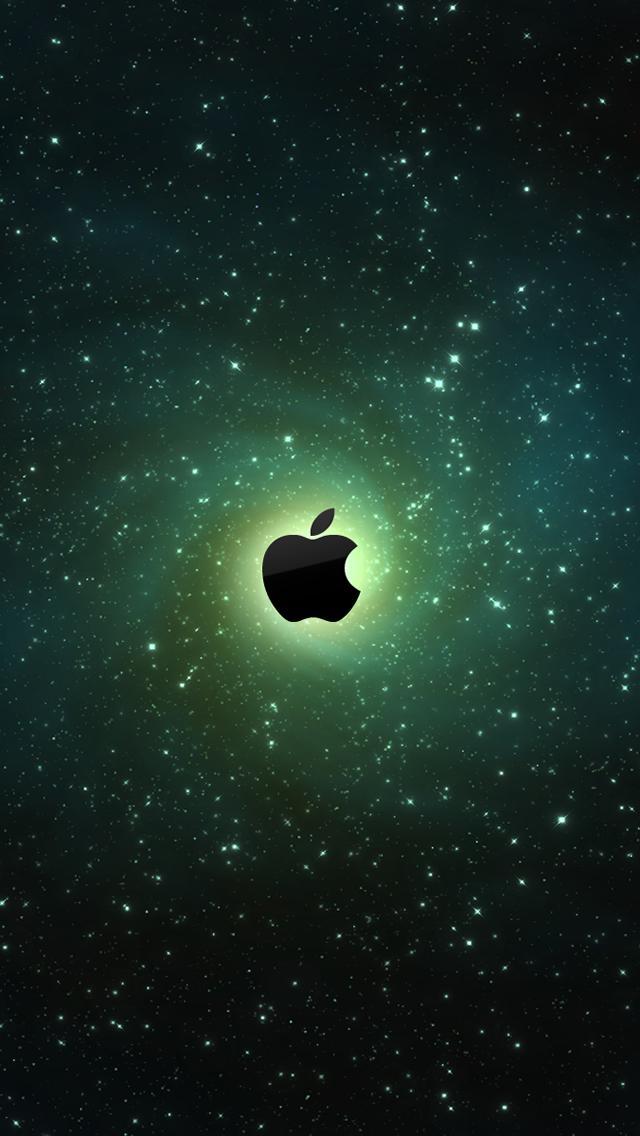 宇宙のアップルロゴマーク