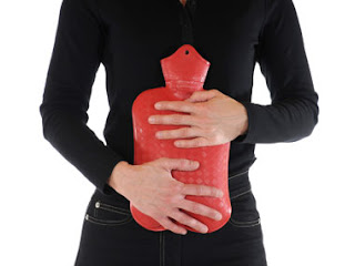 Heat Helps a Stomach Ache