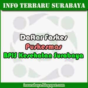 Daftar Faskes Puskesmas BPJS Surabaya