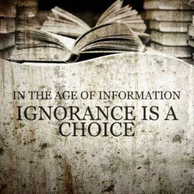 in the age of information...