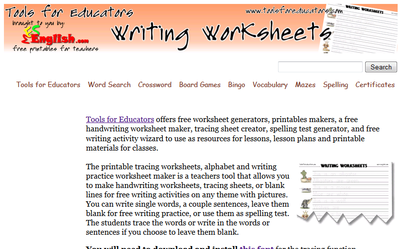 Zhe Simple Education Tools Lets Make Tracing Worksheet