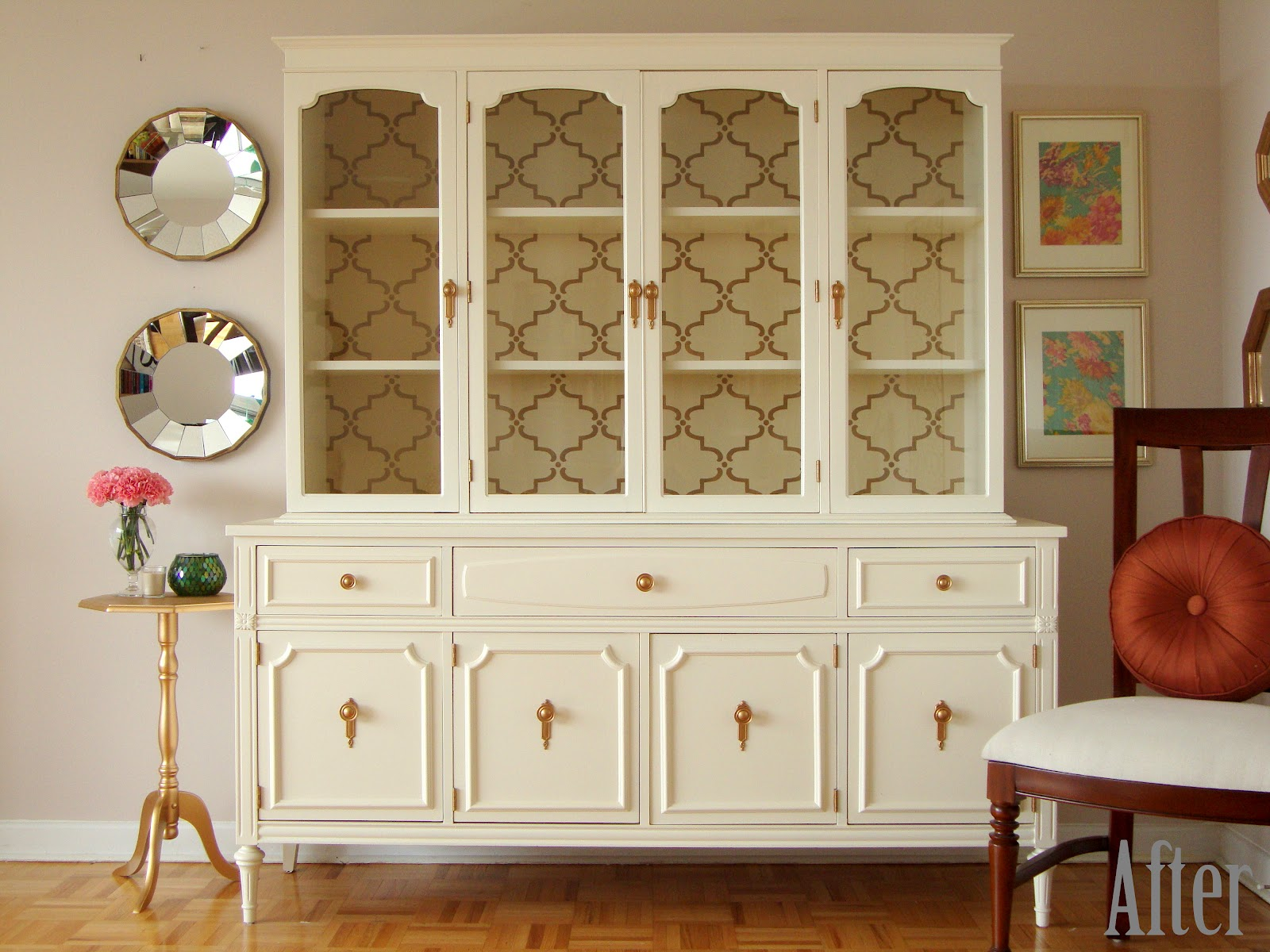 Способы декора старой мебели своими руками. Советы 27