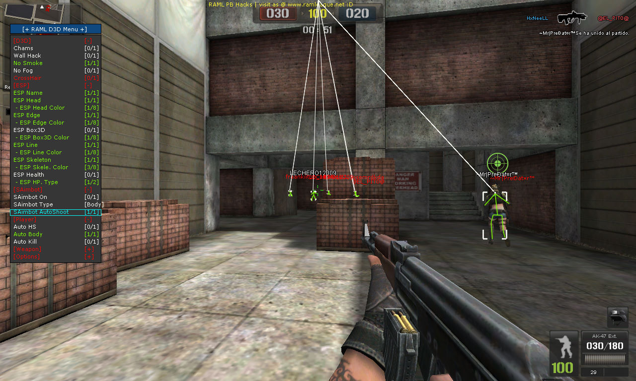 how to turn off bolt shot in cs go