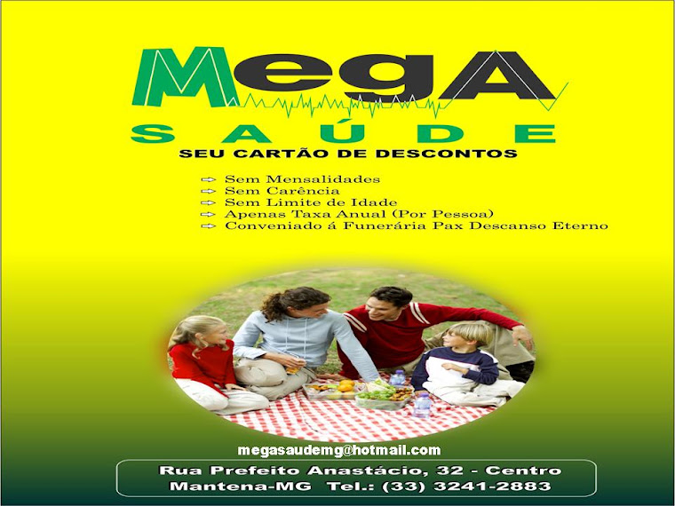 MEGA SAÚDE MANTENA_MG