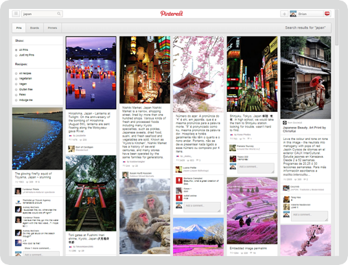 Pinterest Screen 3