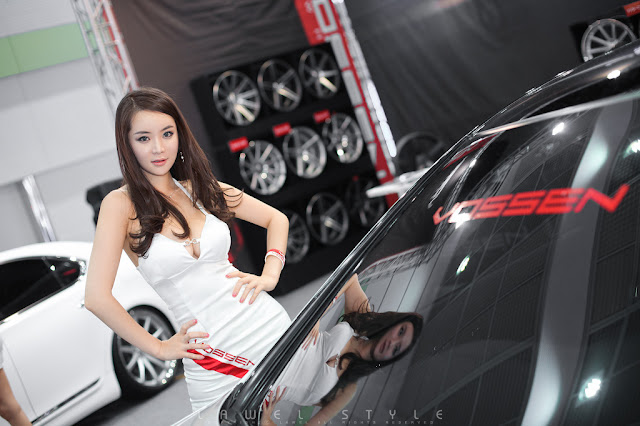 1 Im Ji Hye - Seoul Auto Salon 2012-Very cute asian girl - girlcute4u.blogspot.com