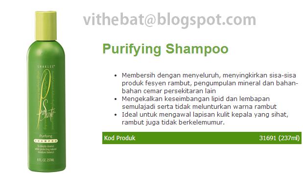 purifying shampoo shaklee