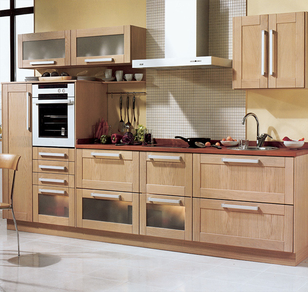Modernas cocinas de madera kitchen design luxury homes for Imagenes de cocinas en l