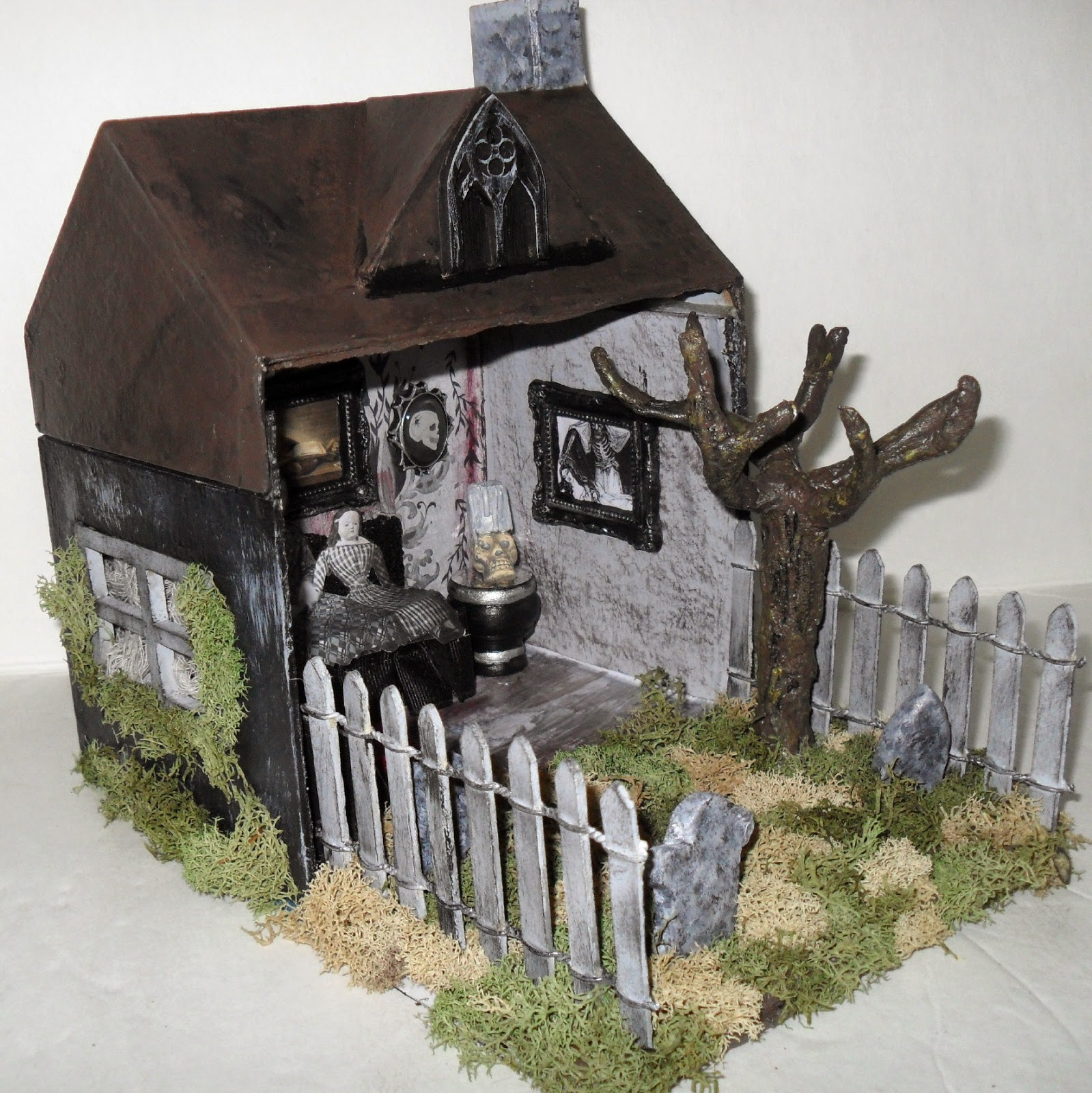 Haunted House Side View