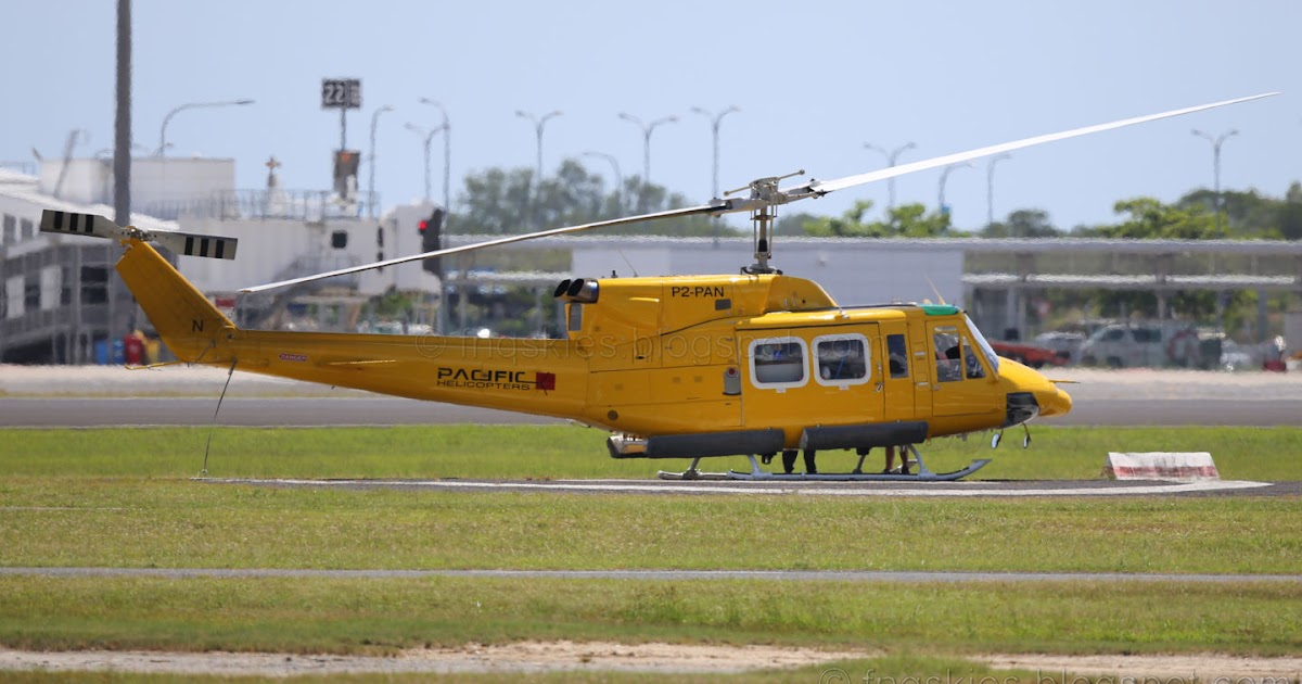 Far North Queensland Skies Pacific Helicopters Bell 212 P2PAN