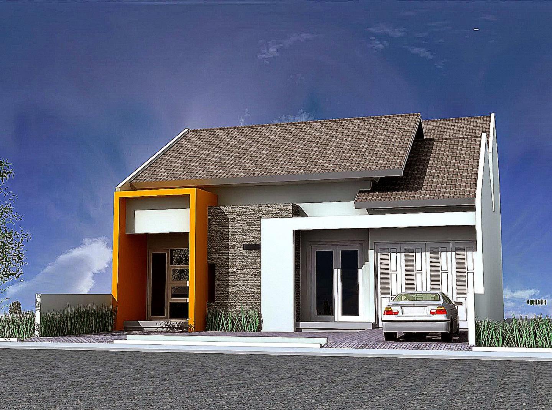 Gambar Model Rumah Type 45 Sederhana Minimalis Modern 2015