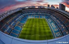 Estadio Santiago Bernabeu, Madrid, Spanyol