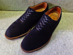 50's BLUE SUEDE SHOES