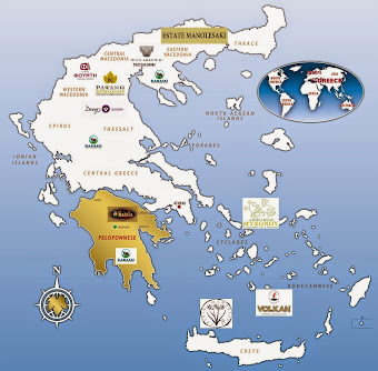 LOCATE OUR PRODUCERS ON THE MAP OF GREECE