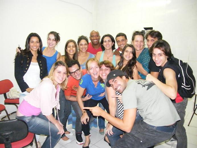 PRODUTORA DE ELENCO DO RIO FAZ WORKSHOP NA CAP