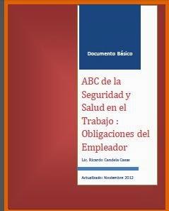 ABC de la seguridad y salud en el trabajo