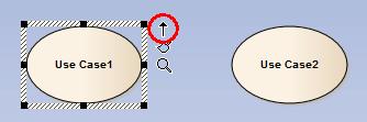 zaznaczony element na diagramie