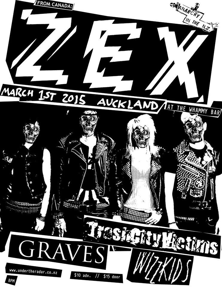 Zex NZ Tour