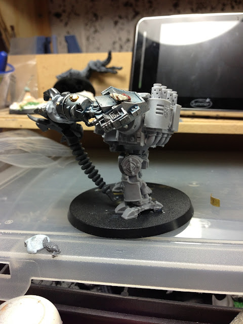forge world space wolf dreadnought conversion