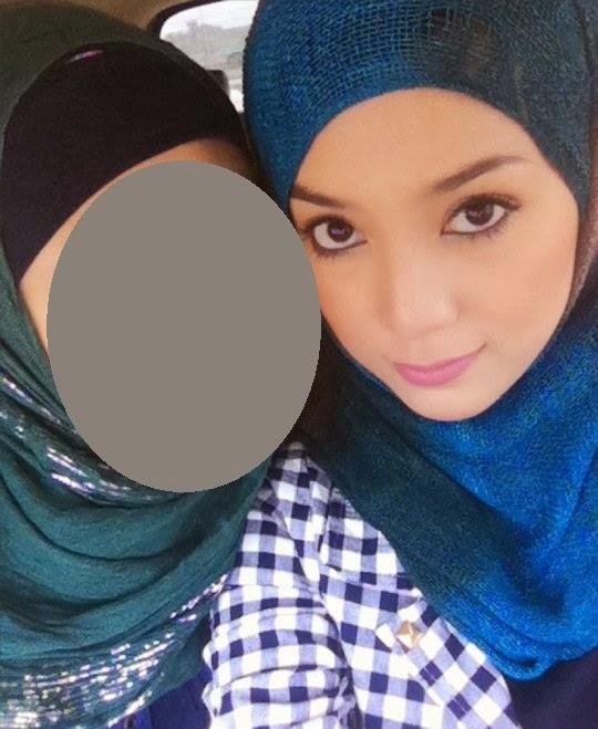 Foto jelita dan wajah sebenar Syada adik perempuan Shila Amzah