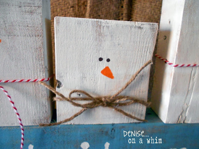 Using 2x4 scraps to create snowmen