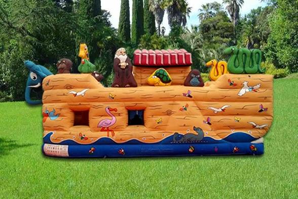 Juego inflable Arca de Noe lima peru