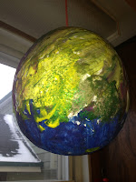 balloon, craft, papier mache, paper mache,