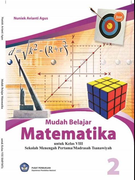 Buku Online Gratis Mudah Belajar Matematika 2 Untuk SMP Kelas 8
