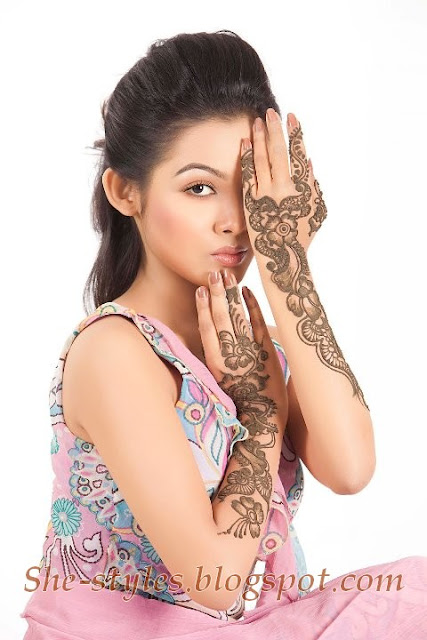 Full Hand Mehndi Collection 2013