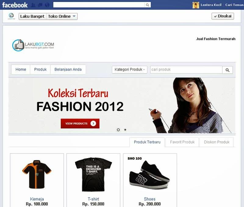 Tampilan Cara Meningkatkan Penjualan Online di Facebook