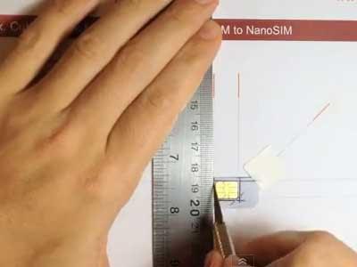 Cara Memotong SIM Card Menjadi Nano SIM Card