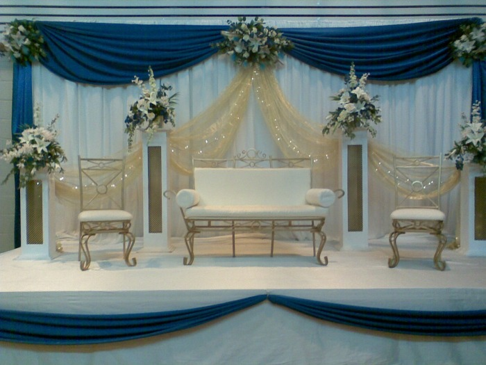 Wedding stage decoration 2011 bridal mehndi designs for Arabic stage decoration