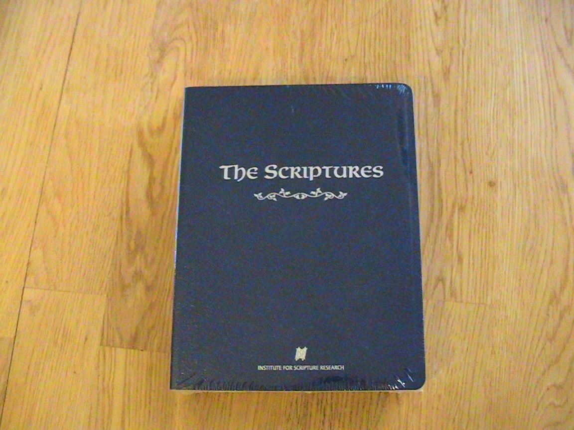 The Scriptures, front cover