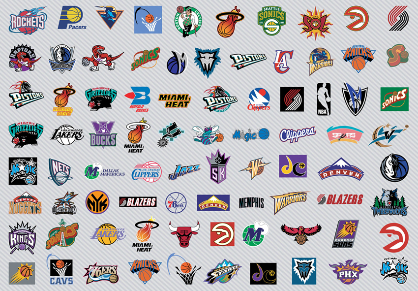 NBA Basketball Team Logos