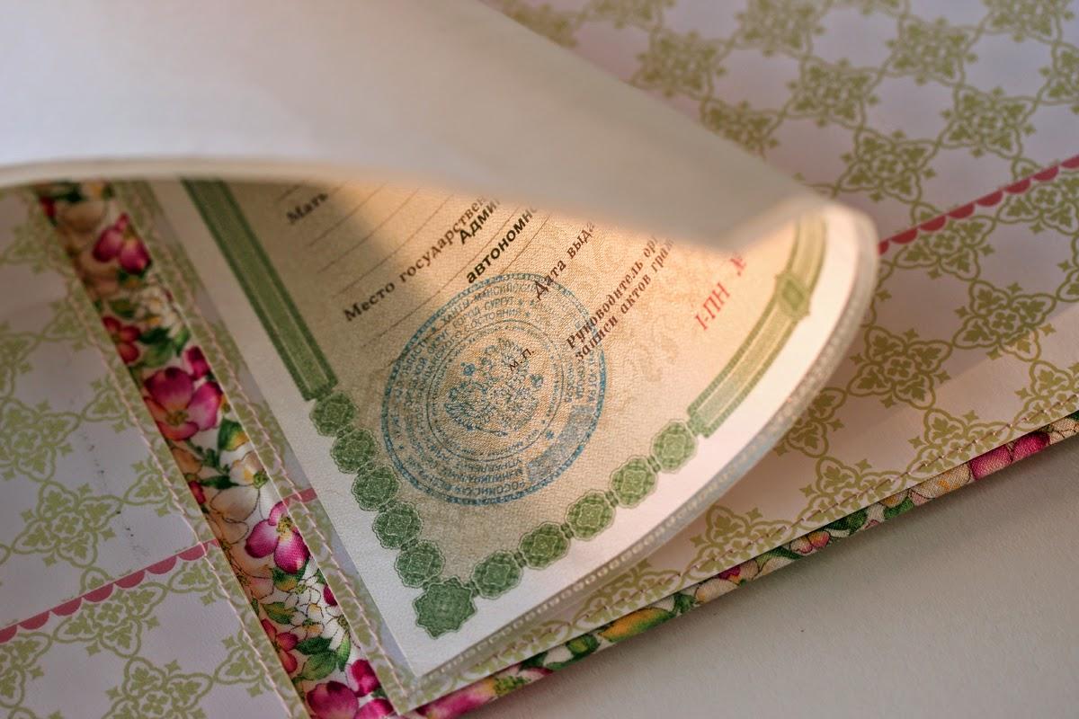 Скрапбукинг папки для документов мастер класс своими руками 40