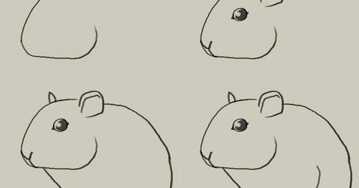 How to draw a mouse easy step by step learn to draw and for How to draw with a mouse